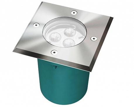 Тротуарный встраиваемый светильник H011S (Litewell)