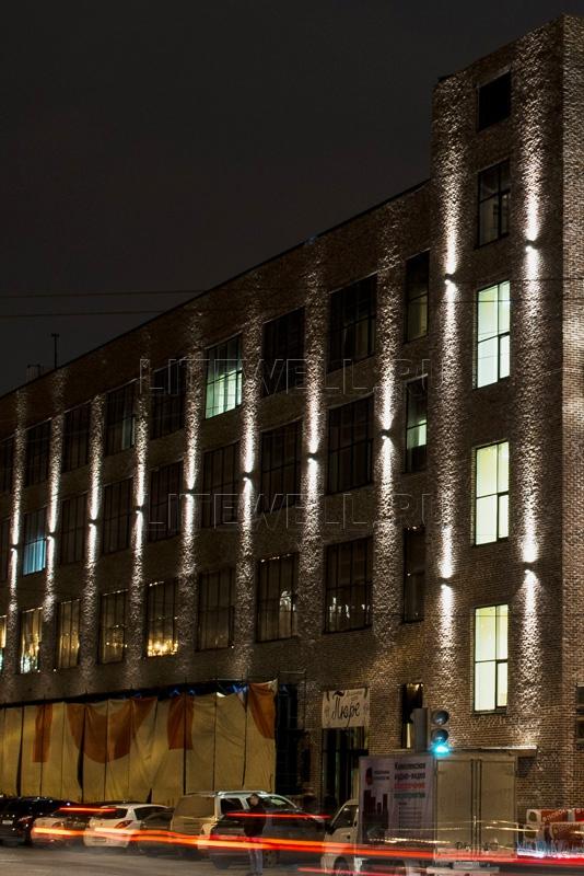 Яркие фасадные светильники 3066A - проект освещения