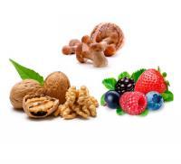 Грибы, ягоды и орехи