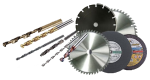 Ассортимент алмазного инструмента для различных работ по обработке камня и бетона