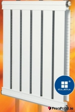 Алюминиевые радиаторы водяного отопления СИАЛ и Сиалко-М