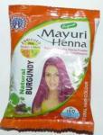 НАТУРАЛЬНАЯ ХНА ЦВЕТ БУРГУНД с лечебными травами Mayuri Henna 30 гр