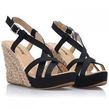 Ретро платформы клин римские сандалии небольшой обуви размер 30 31 32 33 34 двор малый размер производства обуви