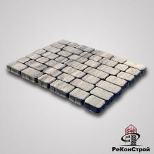 Тротуарная вибропрессованная плитка Ривьера, Color Mix 7, BRAER
