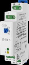 Реле контроля трехфазного линейного напряжения ЕЛ-11М-15