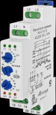 Реле контроля трехфазного фазного напряжения РКН-3-15-15