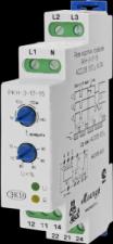 Реле контроля трехфазного напряжения РКН-3-17-15