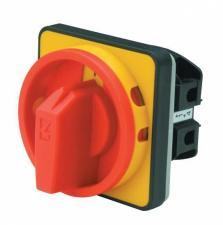 Переключатели аварийного типа PSA020AK341E EMAS жёлто - красный с замком