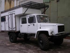 фургон-мастерская, аварийная мастерская на Садко