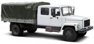 Сдвоенная пятиместная кабина на базе автмобиля ГАЗ САДКО