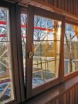 Евроокна деревянные со стеклопакетом