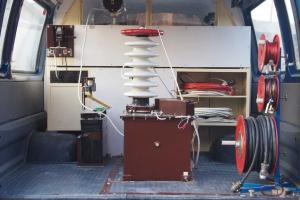 Передвижная электротехническая лаборатория ЭТЛ-35
