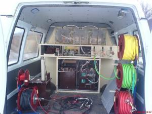 Кабельная электролаборатория для испытания сшитого полиэтилена КАЭЛП