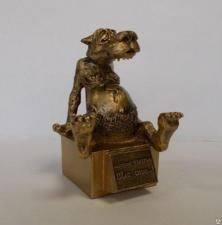 """Сувенир """"Волк. Памятник счастью """"Щас спою...!"""""""