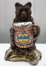"""Сувенир """"Медведь с пивом"""""""