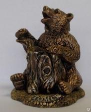 "Сувенир ""Медведь с пнем"""