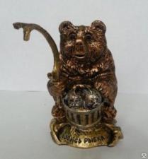 """Сувенир """"Медведь-рыбак"""" №1,№2"""