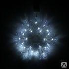"Фигура ""Снежинка"" d-25 см, , 30 LED, 220V, контрол. 8р. БЕЛЫЙ, СИНИЙ"
