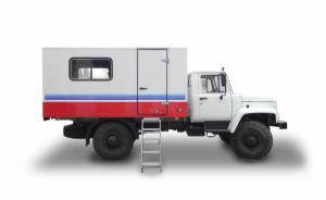 Вахтовый автобус на 15 посадочных мест на базе автомобиля ГАЗ 33081 / ГАЗ 3309