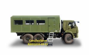 Вахтовка (вахтовый автобус) на 32 места на базе КАМАЗ/УРАЛ