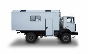 Вахтовый автобус на 28 мест на базе автомобиля КАМАЗ 43114, камаз 43118