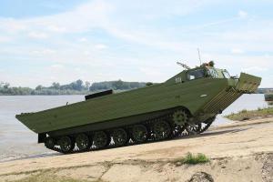 ПТС-М плавающий транспортер средний модернизированный