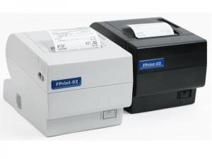 Принтер документов FPrint-02 для ЕНВД. Белый. RS+USB