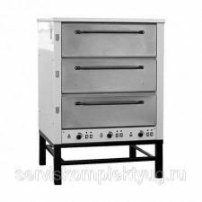 Печь хлебопекарная электрическая ХПЭ-500 нерж. (1160х1050х1625мм, 19,2кВт, 380В)