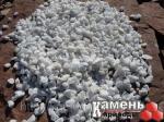 Крошка мраморная белая, фр.10-20 мм., в мешках по 25 кг
