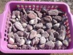 Галька мраморная галтованная розовая 10-20мм