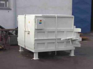 Стационарный гидравлический пресс-контейнер HLS