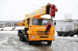 """Автокран КС-55713-1В """"Галич"""""""