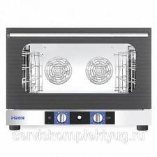 Печь конвекционная PIRON PF7504 (4 GN1/1 или 600х400, 6,3кВт, увлаж.750x690x535)