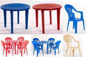 Стол пластиковый