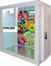 Камера холодильная для цветов . Холодильная камера для хранения цветов. Камера холодильная для цветочного магазина.