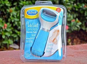 Электрическая роликовая пилка Scholl для пяток