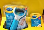 Scholl Velvet Smooth - Электрическая роликовая пилка для педикюра