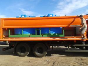 Емкости для перевозки воды и других сельскохозяйственных растворов «Кассета 4500х2S»