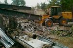 Слом построек.Вывоз мусора,грунта. Планировка.