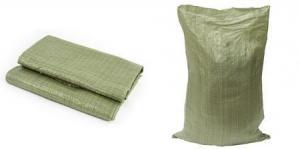 Мешки полипропилленовые зеленые 55*95 для строительного мусора