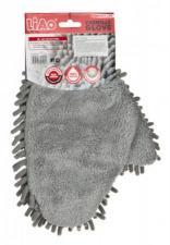Варежка 2-х сторонняя для уборки пыли 24*20 см. без упаковки Ningbo Liao (705-058)