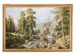 """Гобеленовая картина """"лесной водопад"""" 115х80см. (404-1301-31)"""
