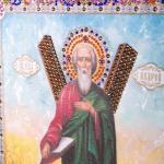 """Икона """"святой андрей первозванный"""" 42х37см, стразы (562-076-31)"""