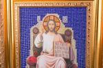 """Икона """"спаситель"""" 44х37 см (562-058-37)"""