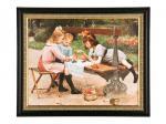 Постер на холсте 50*40 см. багет 59*49 см. Frame Factory (107-993)