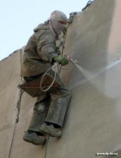 Покраска шиферных крыш