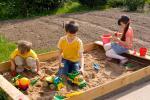 Качественный песок для детских песочниц
