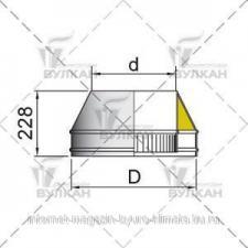 Конус DFH d 104 полированный