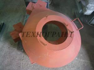 Передняя крышка гранулятора на ОГМ-1,5. Запчасти  ОГМ