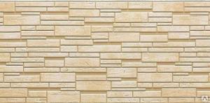 Фиброцементная фасадная панель NICHIHA под камень производство Япония